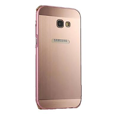 Etui Käyttötarkoitus Samsung Galaxy A5(2017) A3(2017) Pinnoitus Takakuori Yhtenäinen väri Kova Alumiini varten A3 (2017) A5 (2017) A7