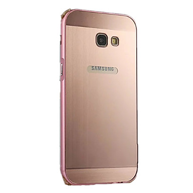 Kılıf Na Samsung Galaxy A5(2017) A3(2017) Galwanizowane Etui na tył Solid Color Twarde Aluminium na A3 (2017) A5 (2017) A7 (2017)