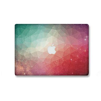 1 kpl Naarmunkestävä 3D Läpinäkyvä muovi Tarrakalvo Hohtaa pimeässä Kuviointi VartenMacBook Pro 15'' with Retina MacBook Pro 15 ''