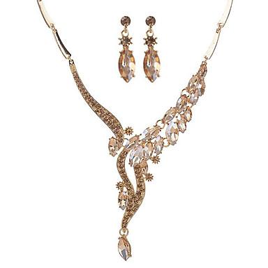 Dámské Syntetický safír Šperky Set - dámy 885d41d645