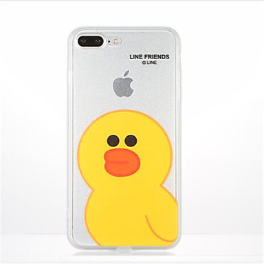 Για Με σχέδια tok Πίσω Κάλυμμα tok Κινούμενα σχέδια Μαλακή TPU για AppleiPhone 7 Plus iPhone 7 iPhone 6s Plus iPhone 6 Plus iPhone 6s
