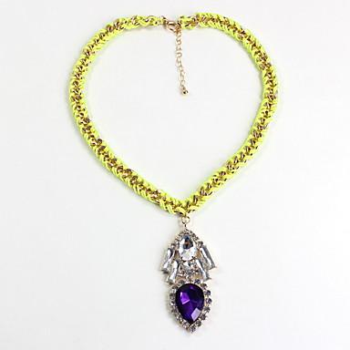 Γυναικεία Κρεμαστά Κολιέ Κοσμήματα Κοσμήματα Πετράδι Ρητίνη Κράμα Φύση Φλοράλ Εξατομικευόμενο Euramerican Κοσμήματα ΓιαΠάρτι Καθημερινά
