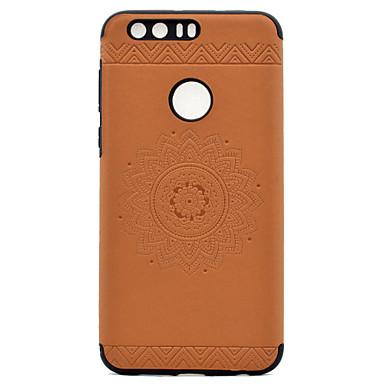 tok Για Huawei Ανάγλυφη Με σχέδια Πίσω Κάλυμμα Μάνταλα Μαλακή PU Δέρμα για P9 P9 Lite Honor 8