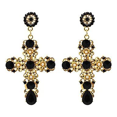 Damskie Kryształ Modny euroamerykańskiej Biżuteria Na Ślub Impreza Urodziny