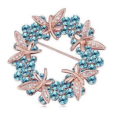 Damskie Broszki Biżuteria Unikalny Kwiaty Osobiste euroamerykańskiej Kamień szlachetny Stop Biżuteria Biżuteria NaImpreza Codzienny