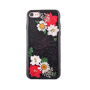 Για Φτιάξτο Μόνος Σου tok Πίσω Κάλυμμα tok Λουλούδι Μαλακή TPU για AppleiPhone 7 Plus iPhone 7 iPhone 6s Plus iPhone 6 Plus iPhone 6s