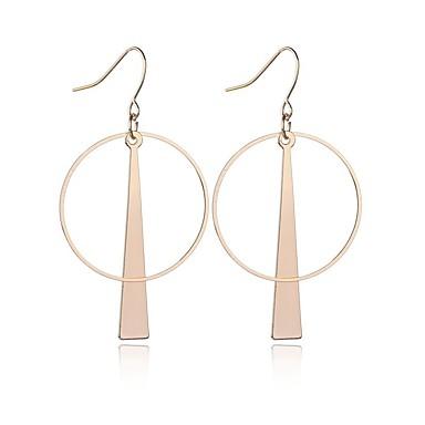 여성용 롱 드랍 귀걸이 귀걸이 숙녀 보석류 골드 / 실버 제품 일상