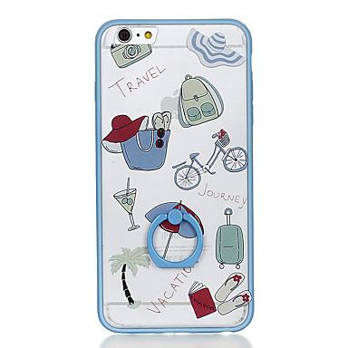 Για Βάση δαχτυλιδιών Με σχέδια tok Πίσω Κάλυμμα tok Κινούμενα σχέδια Σκληρή PC για Apple iPhone 6s Plus iPhone 6 Plus iPhone 6s iPhone 6