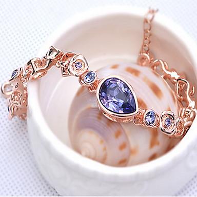 Damskie Bransoletki i łańcuszki na rękę Biżuteria Przyjaźń Modny Kryształ Stop Geometric Shape Biżuteria Na Impreza Urodziny 1szt
