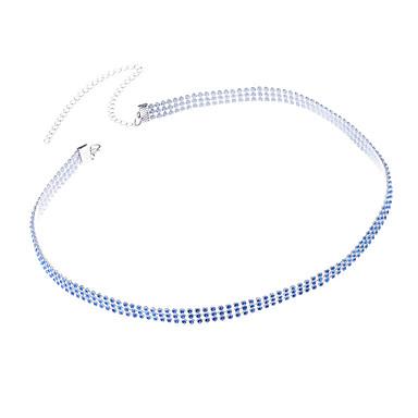Damskie Biżuteria Łańcuch nadwozia / Belly Chain Modny Stop Geometric Shape Black Niebieski Biżuteria Na Impreza Specjalne okazje Casual