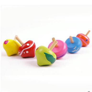 Fidget Spinners Przędzarka ręczna Zabawki Okrągły Drewno EDCStres i niepokój Relief Zabawki biurkowe Za czas zabicia Focus Toy Zwalnia