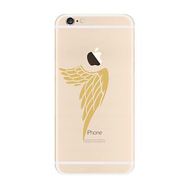 Etui Käyttötarkoitus Apple iPhone X iPhone 8 Plus Läpinäkyvä Kuvio Takakuori Sulat Pehmeä TPU varten iPhone X iPhone 8 Plus iPhone 8