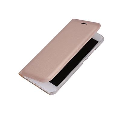 Pentru Titluar Card Auto Sleep / Wake Întoarce Maska Corp Plin Maska Culoare solida Greu PU piele pentru HuaweiHuawei P10 Huawei P9