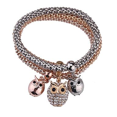للمرأة أساور مجوهرات موضة عتيقة الأحجار الكريمة الاصطناعية سبيكة Geometric Shape مجوهرات من أجل مناسبة خاصة هدية