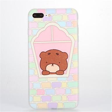 Varten Kuvio Etui Takakuori Etui Piirros Pehmeä TPU varten Apple iPhone 7 Plus iPhone 7 iPhone 6s Plus iPhone 6 Plus iPhone 6s iPhone 6