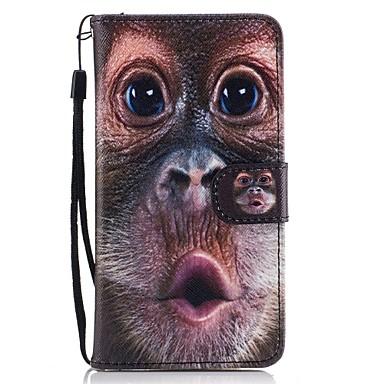 Kılıf Na Samsung Galaxy J5 (2016) J3 (2016) Etui na karty Portfel Z podpórką Flip Wzór Futerał Zwierzę Twarde Sztuczna skóra na J5 (2017)