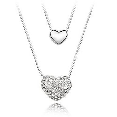 Γυναικεία Κρεμαστά Κολιέ Κρυστάλλινο Εξατομικευόμενο Μοντέρνα Λατρευτός χαριτωμένο στυλ Euramerican Κοσμήματα Για Γάμου Πάρτι