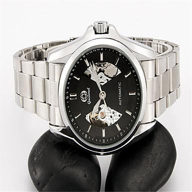 Ανδρικά Μοδάτο Ρολόι μηχανικό ρολόι Αυτόματο κούρδισμα Ανοξείδωτο Ατσάλι Μπάντα Ασημί
