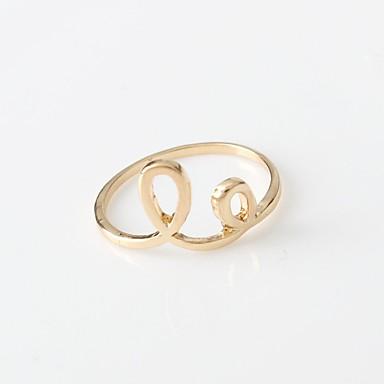 للمرأة خواتم حزام دائرة سبيكة Round Shape مجوهرات من أجل يوميا فضفاض