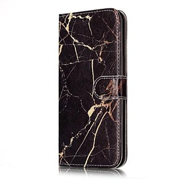 Maska Pentru Samsung Galaxy S8 Plus S8 Titluar Card Portofel Cu Stand Întoarce Carcasă Telefon Marmură Greu PU piele pentru S8 Plus S8 S7