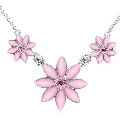 Naisten Riipus-kaulakorut Kristalli Flower Shape Kukka Korut Käyttötarkoitus
