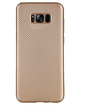 Pouzdro Uyumluluk Samsung Galaxy S8 Plus S8 Ultra İnce Arka Kapak Tek Renk Yumuşak TPU için S8 Plus S8