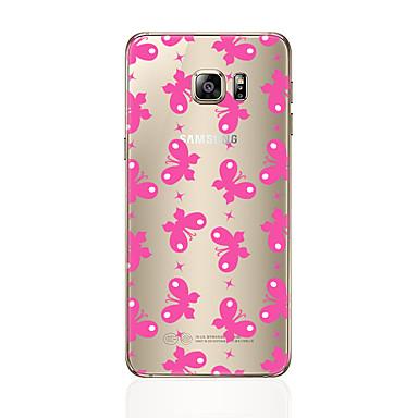 Kılıf Na Samsung Galaxy S7 edge S7 Przezroczyste Wzór Etui na tył Dachówka Miękkie TPU na S7 edge S7 S6 edge plus S6 edge S6 S5 S4