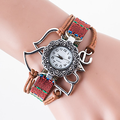 pentru Doamne Ceas Sport Ceas Elegant Ceas La Modă Ceas de Mână Chineză Quartz Material Bandă Charm Casual Creative MulticolorNegru