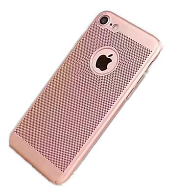 غطاء من أجل Apple iPhone 7 Plus iPhone 7 نحيف جداً غطاء خلفي لون الصلبة قاسي الكمبيوتر الشخصي إلى iPhone 7 Plus iPhone 7 iPhone 6s Plus