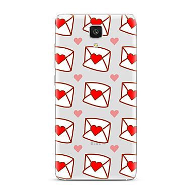 إلى شفاف نموذج غطاء غطاء خلفي غطاء قلب ناعم TPU إلى Xiaomi Xiaomi Mi 5 Xiaomi Mi 4 Xiaomi Mi 5s Xiaomi Mi 5s Plus Xiaomi Mi 3 Xiaomi Mi 4s