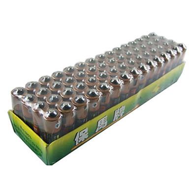 Baoma zinc baterie aaa celule uscate pachet 1.5v 60