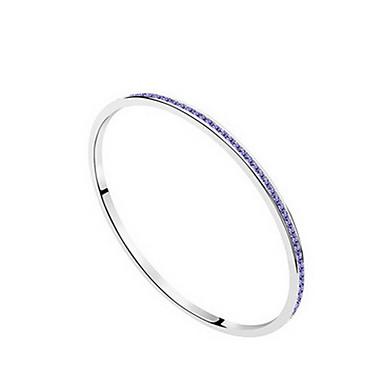 Damskie Bransoletki bangle Biżuteria Przyjaźń Modny Kryształ Stop Geometric Shape Biżuteria Impreza Urodziny