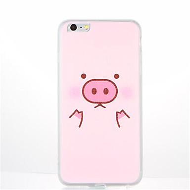 Kılıf Na Apple iPhone 7 Plus iPhone 7 Wzór Czarne etui Rysunek Zwierzę Miękkie TPU na iPhone 7 Plus iPhone 7 iPhone 6s Plus iPhone 6s