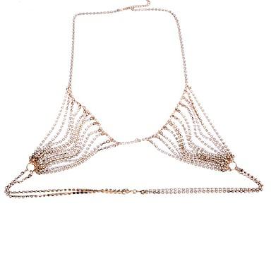 Dame Bijuterii de corp Corp lanț / burtă lanț Natură La modă Piatră Preţioasă Aliaj Geometric Shape Bijuterii Pentru Ocazie specială
