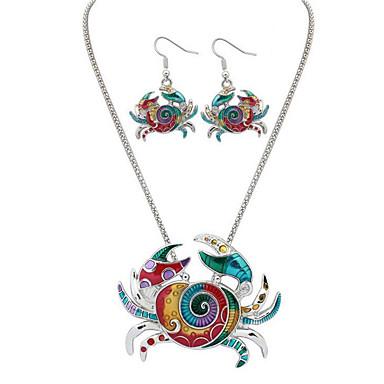 Damskie Zestawy biżuterii Biżuteria Luksusowy Unikalny Wiszący List Hip-Hop minimalistyczny styl Codzienny Casual Zwierzę 1 Naszyjnik 1