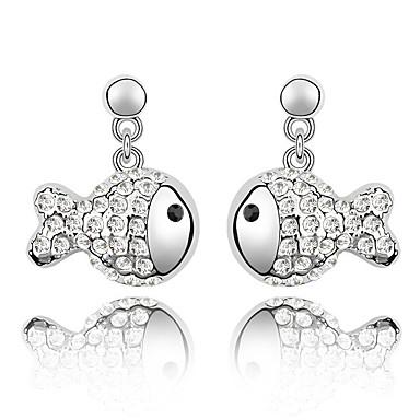 للمرأة كريستال مخصص تصميم الحيوانات موضة كروم مجوهرات زفاف حزب عيد ميلاد هدية