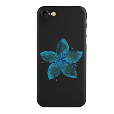 Kılıf Na Apple iPhone 7 Plus iPhone 7 Wzór Czarne etui Kwiaty Miękkie TPU na iPhone 7 Plus iPhone 7 iPhone 6s Plus iPhone 6s iPhone 6