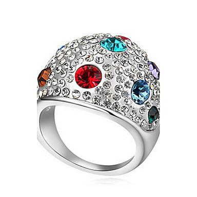 Damskie Duże pierścionki Biżuteria Podstawowy euroamerykańskiej Syntetyczne kamienie szlachetne Biżuteria Biżuteria Na Impreza Specjalne