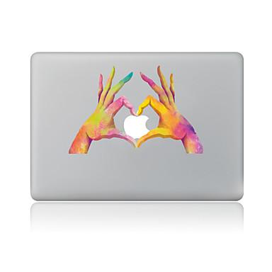 1 szt. Naklejka na obudowę na Odporne na zadrapania 3D Wzorki PVC MacBook Pro 15'' with Retina MacBook Pro 15'' MacBook Pro 13'' with