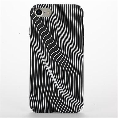tok Για Apple iPhone 7 Plus iPhone 7 Με σχέδια Πίσω Κάλυμμα Γραμμές / Κύματα Σκληρή PC για iPhone 7 Plus iPhone 7 iPhone 6s Plus iPhone