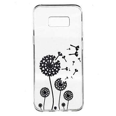 إلى شفاف نموذج غطاء غطاء خلفي غطاء دانديلون ناعم TPU إلى Samsung S8 Plus S8 S7 edge S7 S6 edge plus S6 edge S6 S4 Mini S4