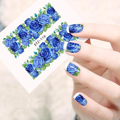 10pcs/set Nail Art tarra Veden siirto Decals meikki Kosmeettiset Nail Art Design