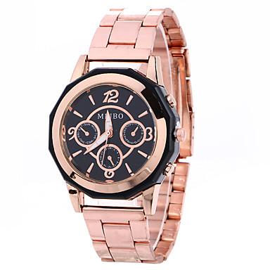 Damskie Modny Zegarek na nadgarstek Kwarcowy Stop Pasmo Z Wisorkami Nowoczesne Na co dzień Kreatywne Srebro Różowe złoto