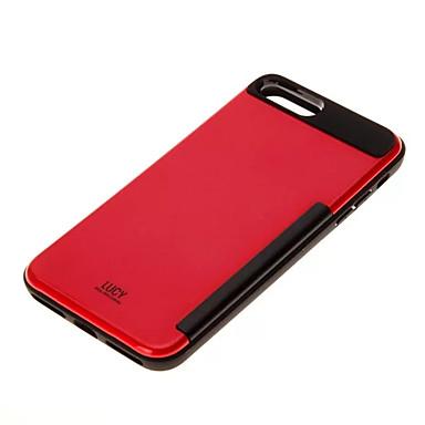 Per Plus 05658484 Apple urti Porta 7 retro 7 PC 7 carte iPhone Tinta Per iPhone Resistente Custodia iPhone 7 per credito unita 6s agli Resistente Plus iPhone di iPhone Plus df5qOwxnC