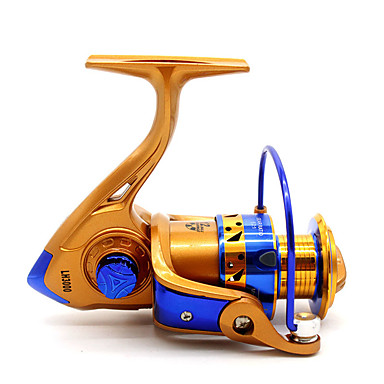 Fishing Reels بكرة دوارة 5.2:1 12 الكرة كراسى أيمن الصيد العام-LH5000
