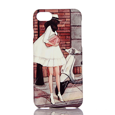 Na Ultra cienkie Wzór Kılıf Etui na tył Kılıf Kreskówka Twarde PC na Apple iPhone 7 Plus iPhone 7 iPhone 6s Plus iPhone 6 Plus iPhone 6s