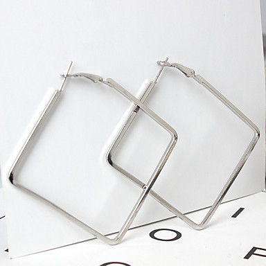 Women's Drop Earrings - Geometric, Fashion Gold / Silver For Daily