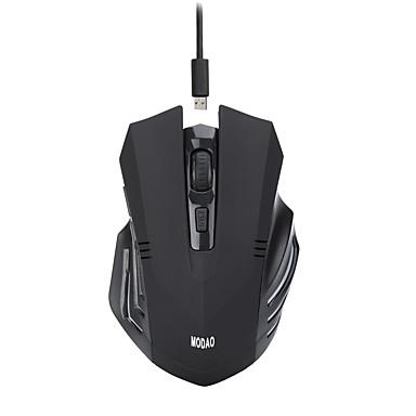 MODAO Wireless mouse-ul pentru jocuri DPI ajustabil iluminare din spate 800/1200/1600