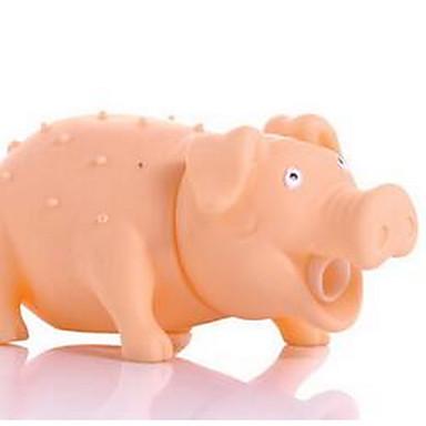 Zabawki piszczące Pisk Świnka Gumowy Na Pies Szczeniak