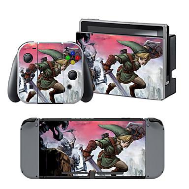 B-SKIN Nintendo Switch / NS Naklejka / skórka Na Przełącznik Nintendo ,  Przenośny / a / Zabawne Naklejka / skórka Winyl 1 pcs jednostka